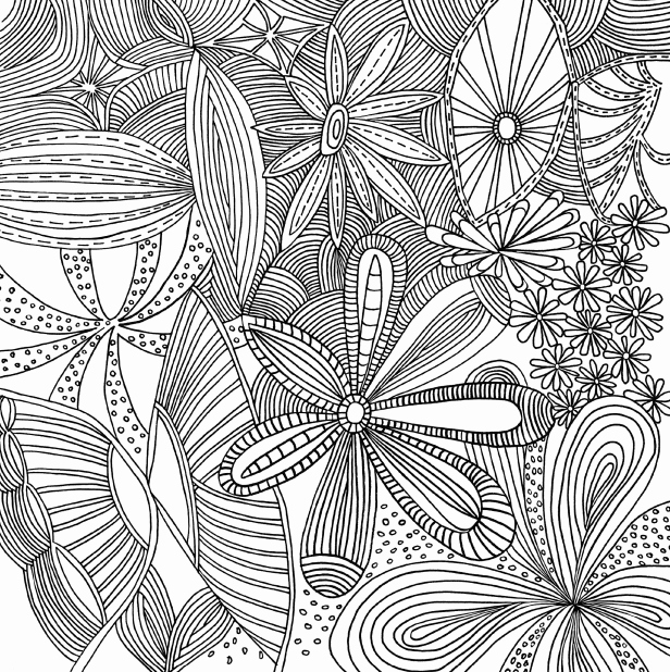 free coloring pages for adults printable hard to color Luxury Printable Coloring Pages for Adults Patterns Gallery