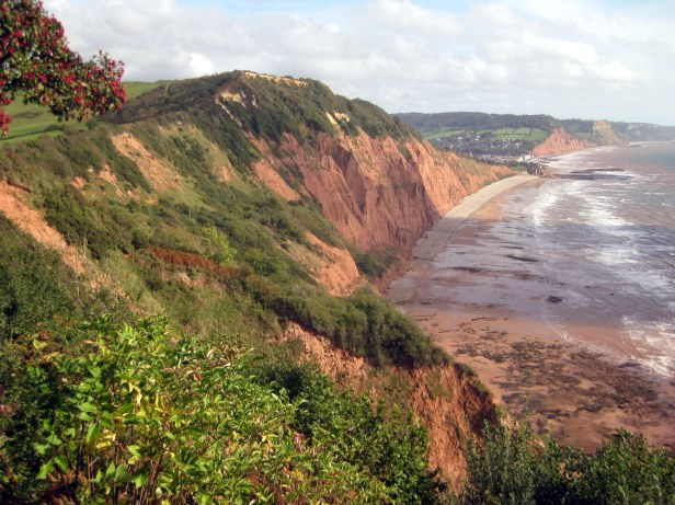 View to Peak Hill and Sidmouth